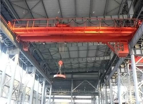 Electromagnetic Overhead Gantry Crane QC Type Box Shape Bridge Frame