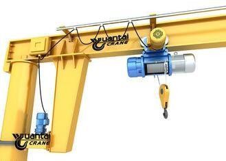 Fast Loading Electric Jib Crane 3 - 12 M Span Compact Design For Workshop